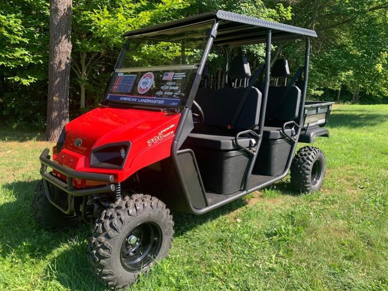 American Landmaster 700 Power Steering 4WD UTV 4 PERSON CREW