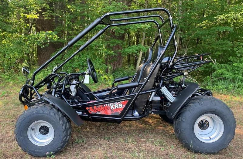 Fall Special! TrailMaster 200E XRS EFI Teen-Adult Go Kart 43 MPH!!! Black