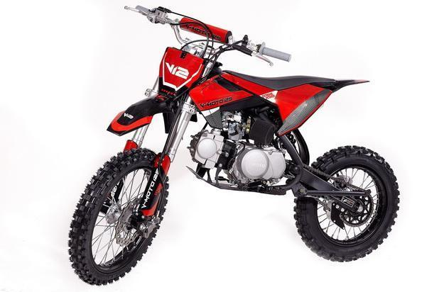 Spring Special! New K3-125 High Performance Mid Size Dirt/Pit Bike RED