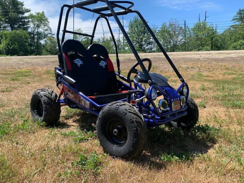 TrailMaster Mini XRX/R+ Go Kart Youth size ages 4-9 Blue