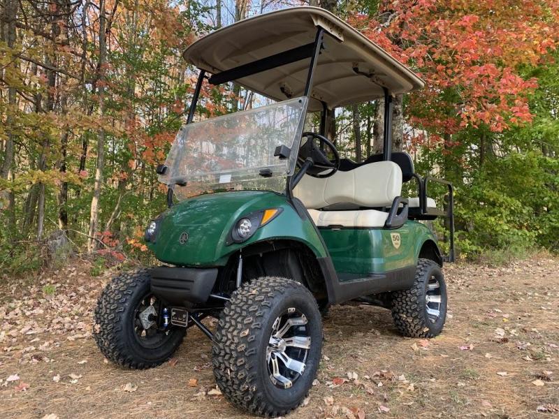 """Yamaha DRIVE GAS 4 pass golf cart w/6"""" Lift Kit Off -underglow RUGGED"""