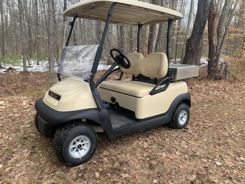Club Car Precedent 48 VOLT Golf Car W/ALUMINUM UTILITY BED