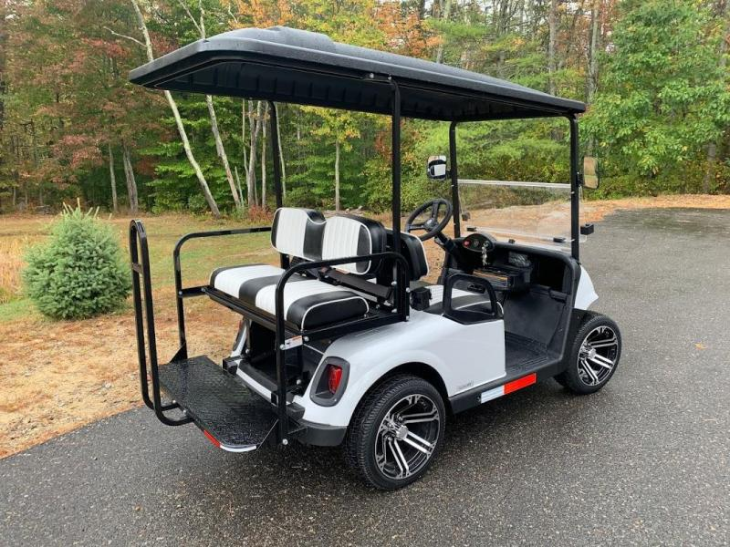 2021 Mid-South EZGO RXV 25MPH Street Legal 4 pass golf cart-White