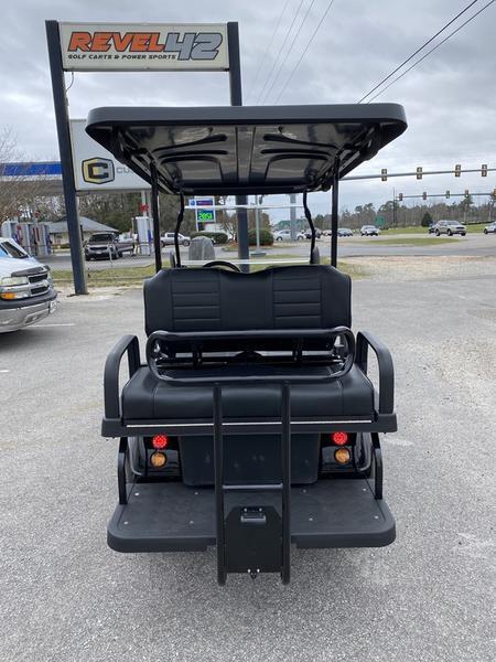 "New Evolution Classic 4 ""PLUS"" STREET LEGAL LSV 25MPH golf car Black"
