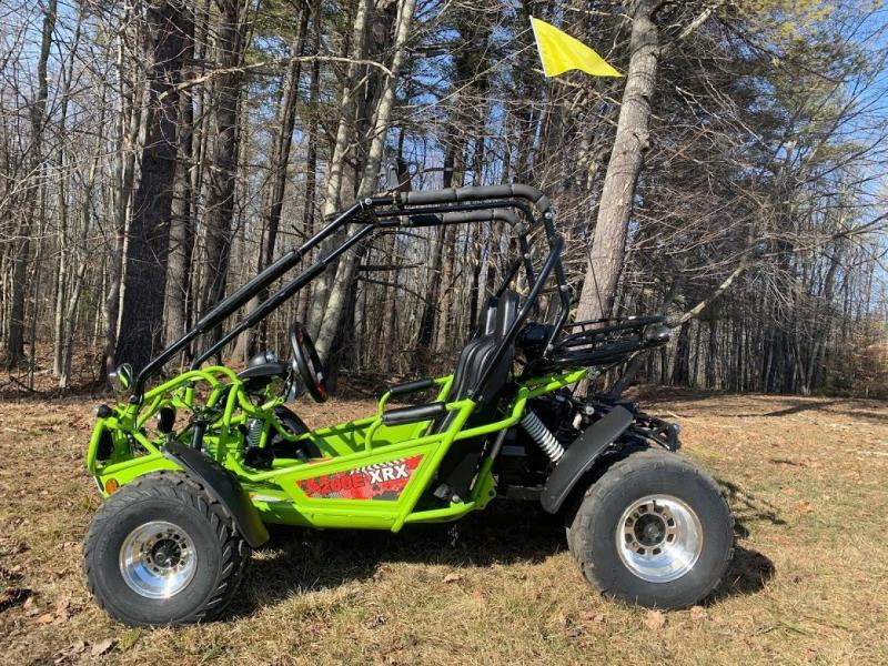 NEW Trailmaster 200E XRX Fuel Injected 43 MPH Go Kart Teen-Adult GREEN