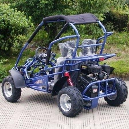 NEW Trailmaster Mid XRX-R Go Kart Youth size ages 7-12 REVERSE 31 MPH BLUE
