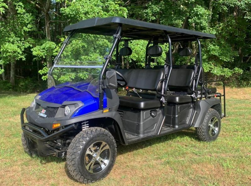 NEW Taurus 400 EFI 6 passenger Side by Side UTV 4WD 26 HP 35 MPH-Blue