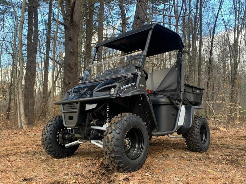 American Landmaster L7 694cc EFI 4x4 UTV Side By Side Made in USA! Black