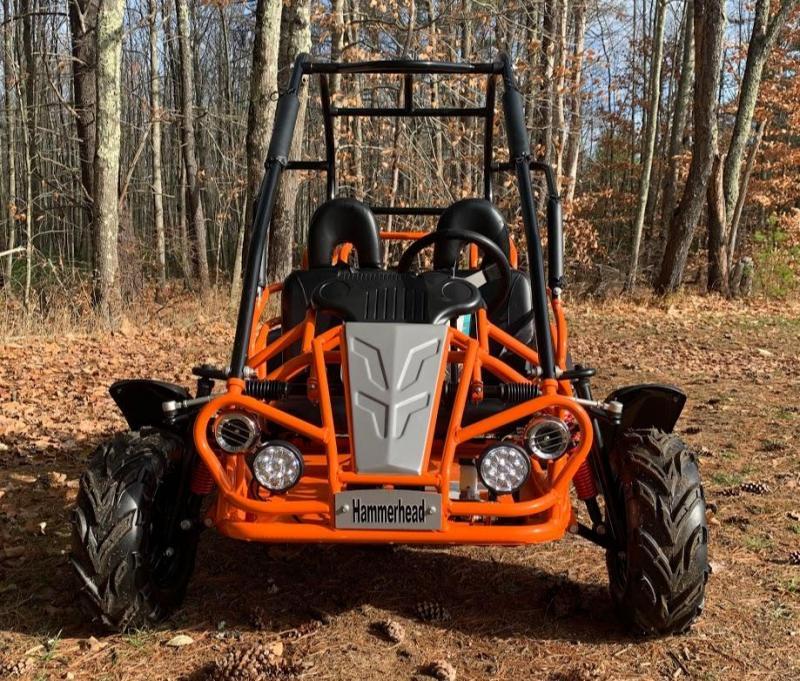 Holiday Special! NEW Hammerhead MudHead 208R Go Kart ages 8-13-Orange