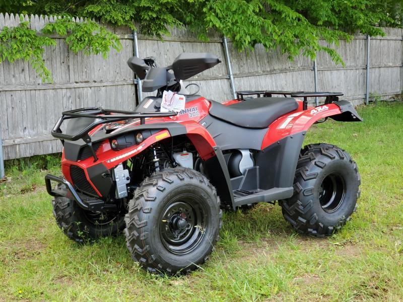 Bighorn 300 4x4 ATV Shaft Drive 22HP Linhai Quality-NICE MACHINE-Red