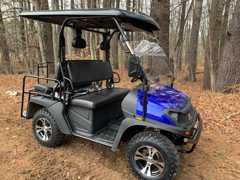 Eagle 200GX 25 MPH GAS 4 pass golf car style UTV-Colors