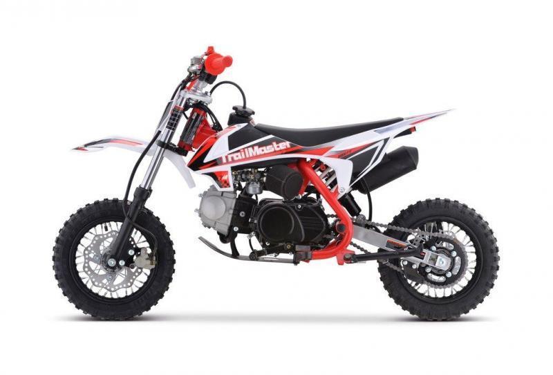 Fall Special! New TrailMaster TM11 110cc Dirt Bike, Automatic Clutch Electric Start