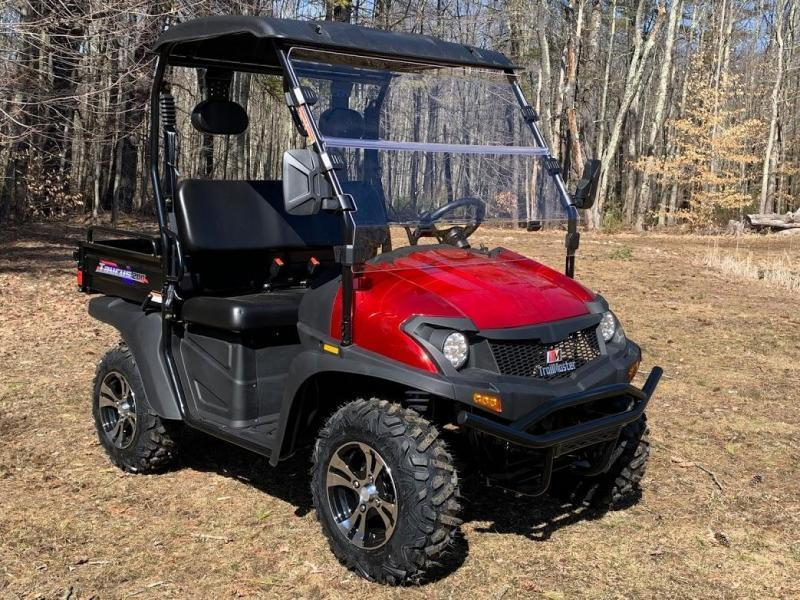 Taurus 200U-E DX 2WD EFI UTV with DUMP BODY 25MPH RED