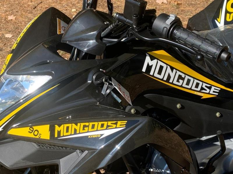 JUST IN!! 2021 KYMCO Mongoose 90S YOUTH AGE 10 UP ATV-BLACK or YELLOW