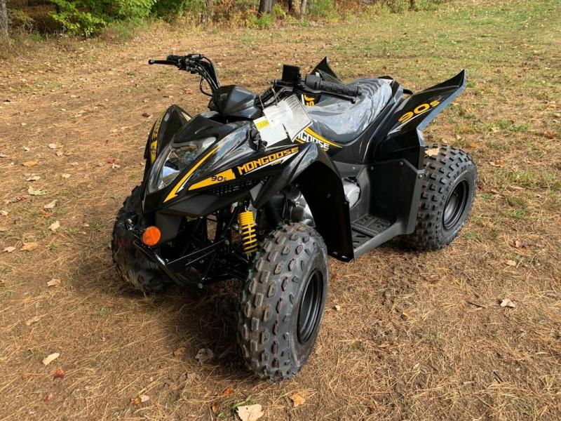 Black Friday Sale!2021 KYMCO Mongoose 90S YOUTH AGE 10 UP ATV-BLACK