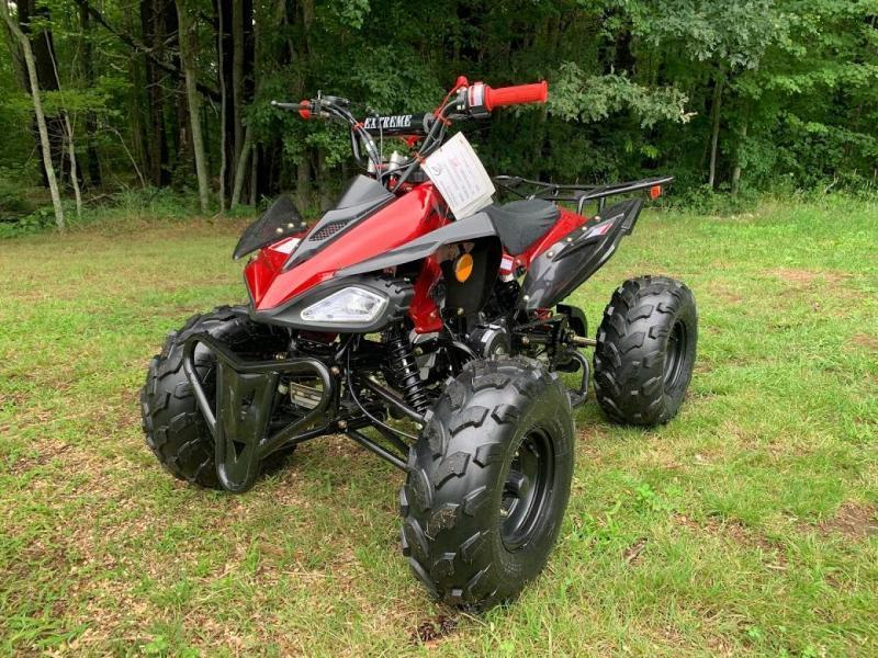 Fall Special! New Vitacci Jet 9 125CC youth ATV 2WD w/reverse-Burgundy-30MPH