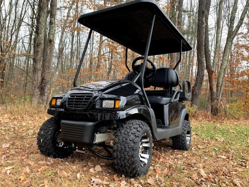 Spring Special! Custom Club Car Phantom GAS EFI LIFTED-TRIPLE BLACK