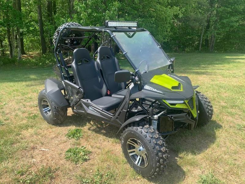Trailmaster Cheetah 200EX Go Kart Teen-Adult 38 MPH SPORT UTV Green