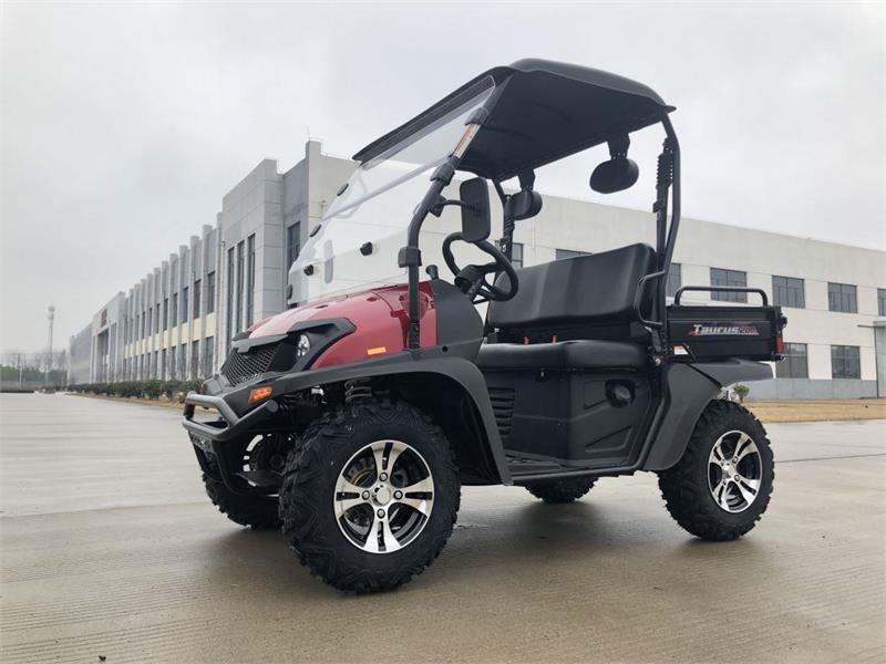 Taurus 200U DX 2WD UTV with DUMP BODY 25MPH RED