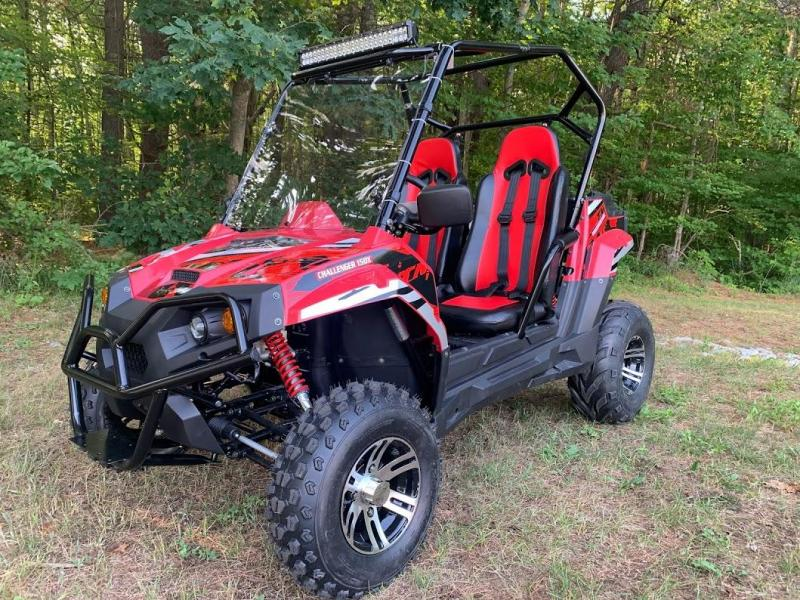 SALE! Trailmaster Challenger 150X DELUXE 35MPH YOUTH SPORT UTV RED
