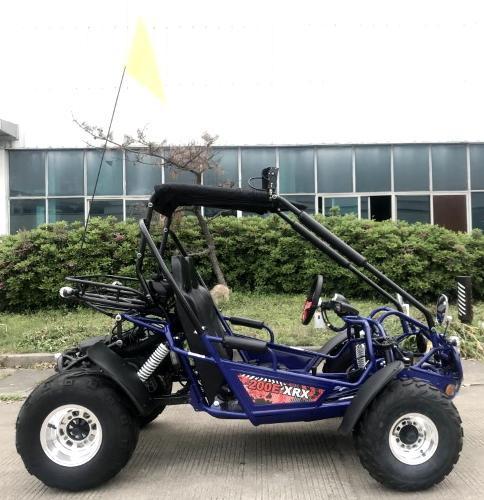 NEW Trailmaster 200 XRX 43 MPH Go Kart Teen-Adult Blue