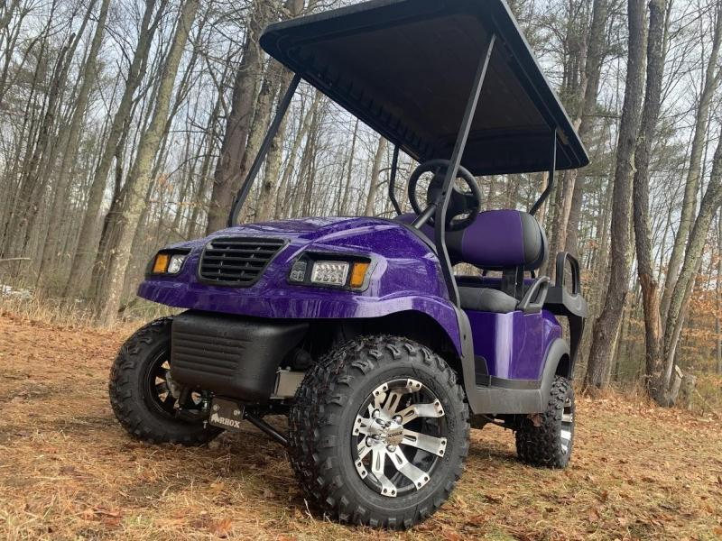 Spring Special! CUSTOM Precedent Phantom EFI GAS w/LIFT KIT-PURPLE