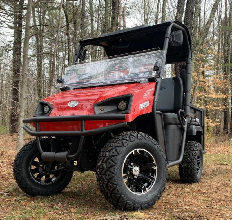 ELECTRIC American LandMaster CRUISER CUSTOM 4 Passenger UTV RED