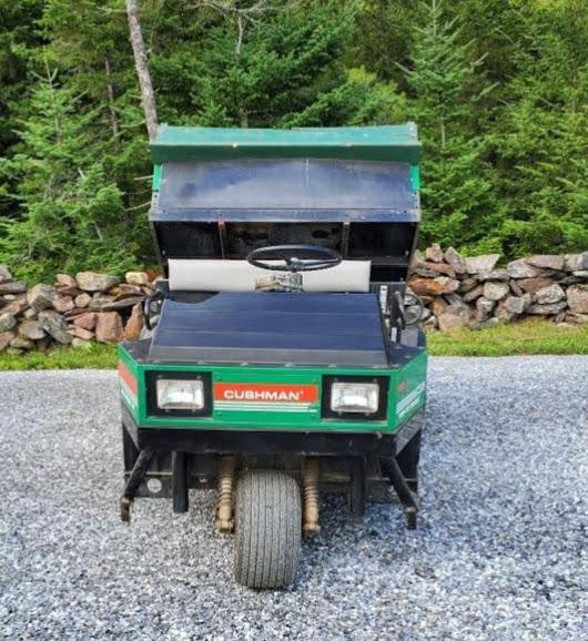 1995 Cushman Truckster 3 wheel utility vehicle