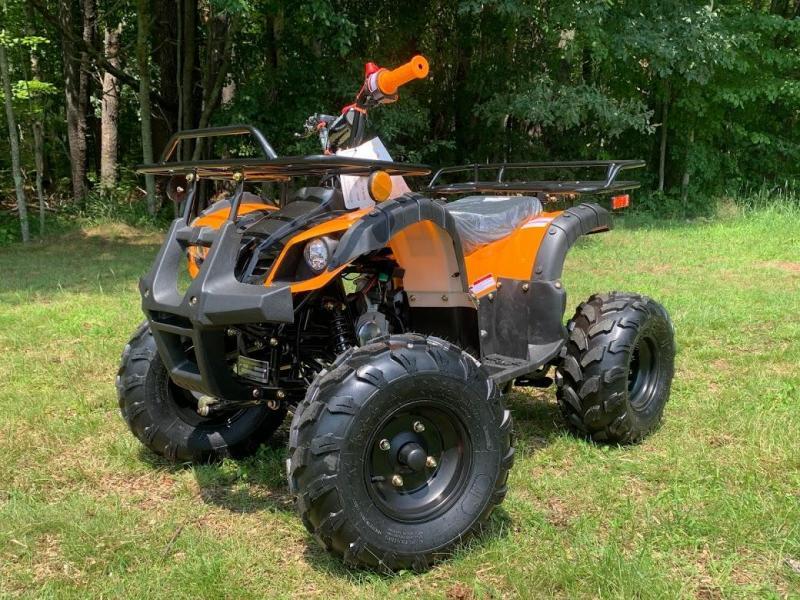 Summer Special! New Vitacci RIder 8 125CC youth  ATV 2WD w/reverse-ORANGE-30MPH