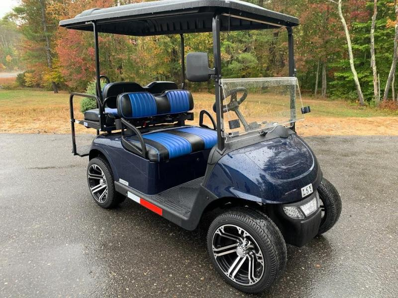 Winter Clearance! 2021 MidSouth EZGO RXV 25MPH Street Legal Navy Blue