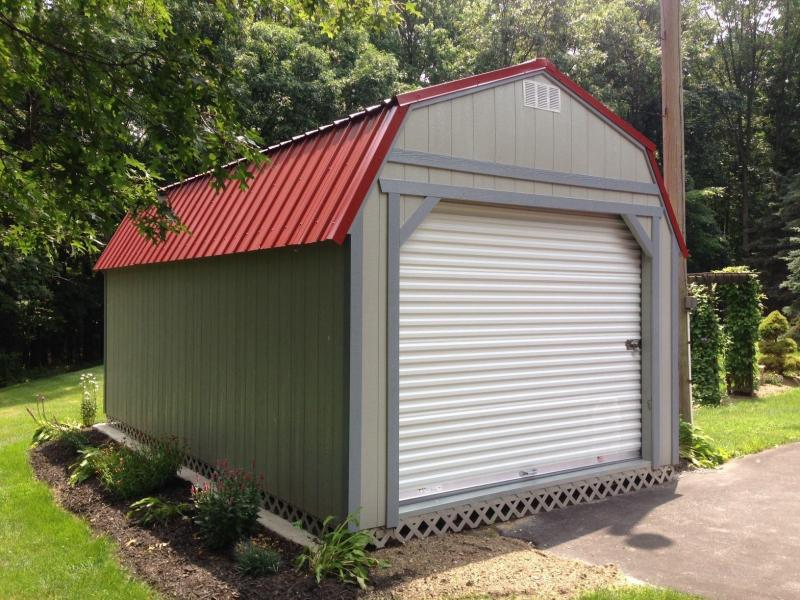 Brand New Old Hickory Garage w/LOFT 12' x 12'