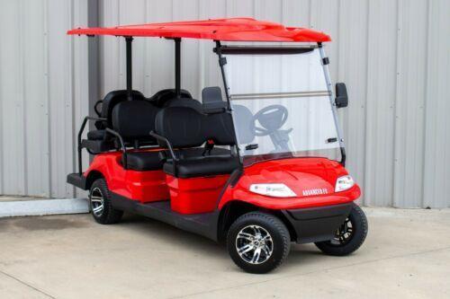 2021 Advanced EV LUXURY 48 Volt 6 PASSENGER golf cart limo