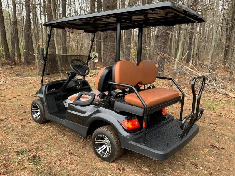 Summer Special!! 25 MPH NEW AEV LUXURY 48 Volt 4 PERSON electric golf car-Black