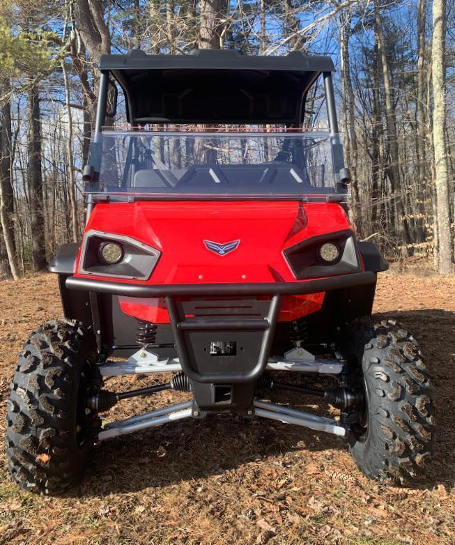 American Landmaster L7 694cc EFI 4x4 UTV Side By Side Made in USA! Red