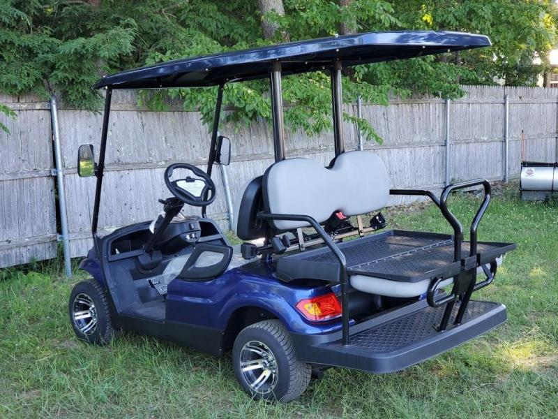 Summer Special!! 25 MPH NEW AEV LUXURY 48 Volt 4 PERSON electric golf car-NAVY