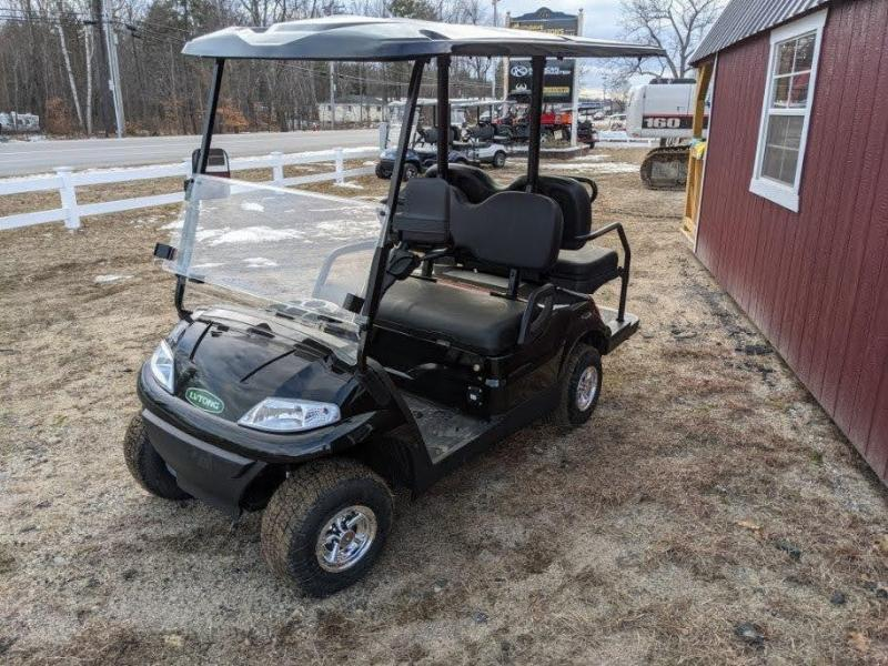 WINTER CLEARANCE! NEW LVT LUXURY 48 Volt 4 PERSON electric golf car-Black