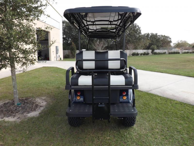 Evolution LIFTED 6 Passenger STREET LEGAL LSV LIMO 25MPH golf car NAVY