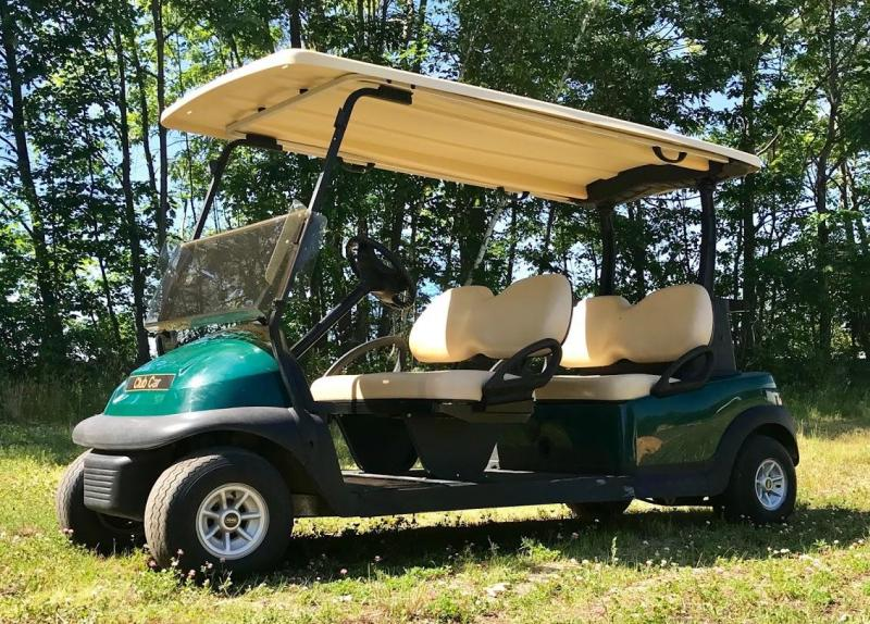 Club Car Precedent 4 passenger Electric Limo w/NEW Batteries