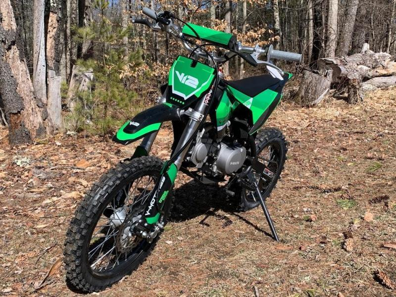 Spring Special! New K3-125 High Performance Mid Size Dirt/Pit Bike-GREEN