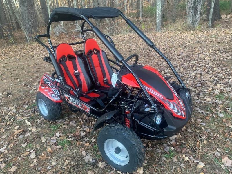 NEW TrailMaster Blazer 200R 31MPH Go Kart age 8-13 Red