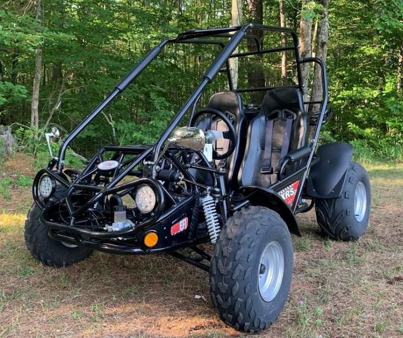 Spring Special! TrailMaster 200E XRS EFI Teen-Adult Go Kart 43 MPH!!! Black