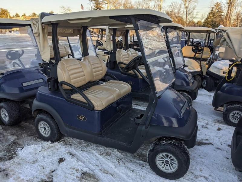 2017 Club Car Precedent 48 volt electric golf cart-Blue