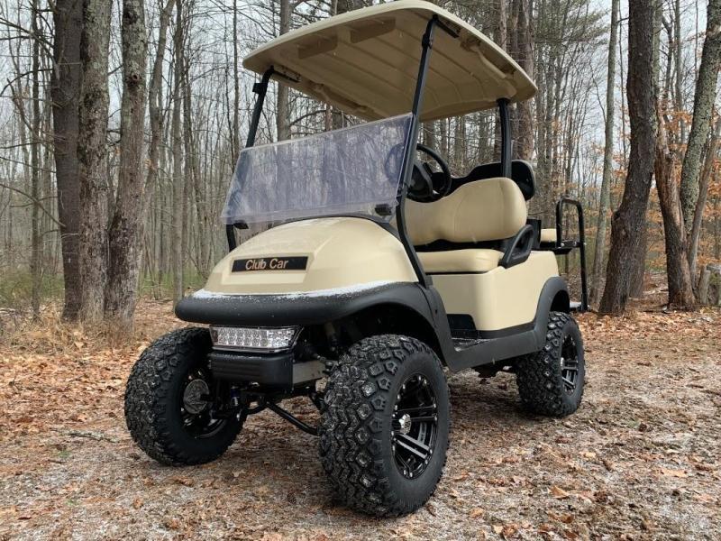 """Winter Special! Club Car Precedent New 2020 Batteries-6""""Lift Kit-Seat Kit"""
