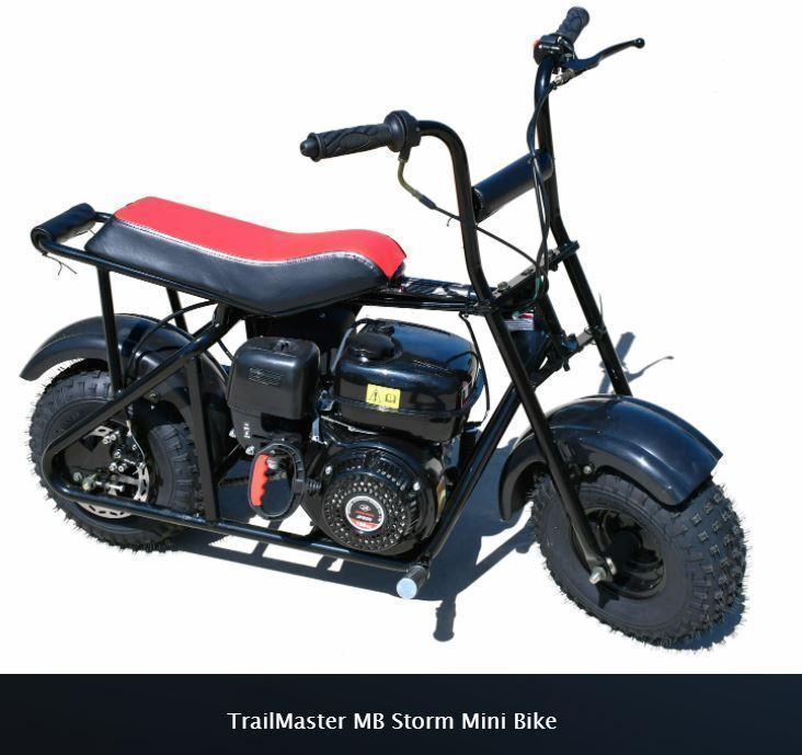 Winter Special! New TrailMaster Storm 200 Mini Bike On-Off Road Fun!