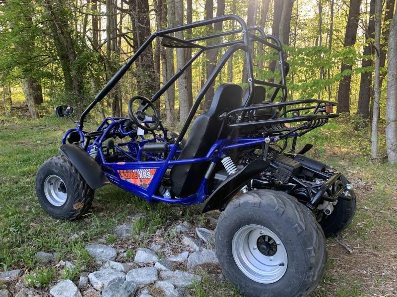 Fall Special! TrailMaster 200 XRS Teen-Adult Go Kart 43 MPH!!! Blue