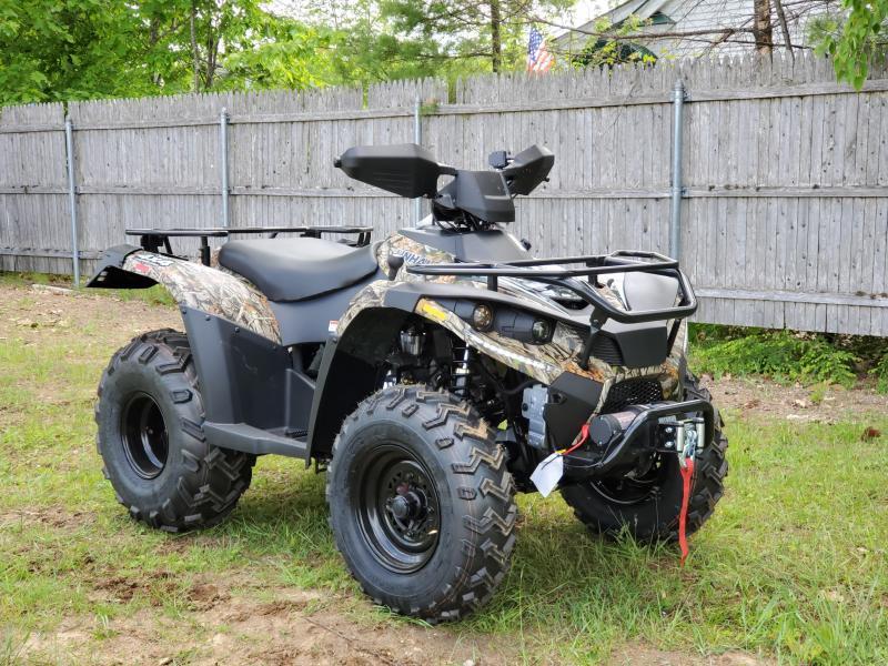 Bighorn 300DX 4x4 ATV Shaft Drive 22HP Linhai Quality-with WINCH Camo