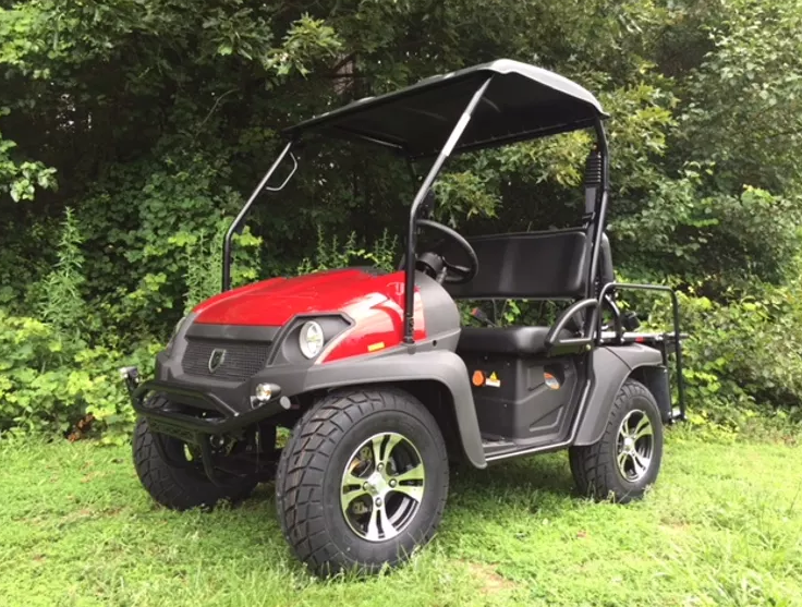25 MPH Street Legal Bighorn EV5 60 volt 4 person LSV utility vehicle