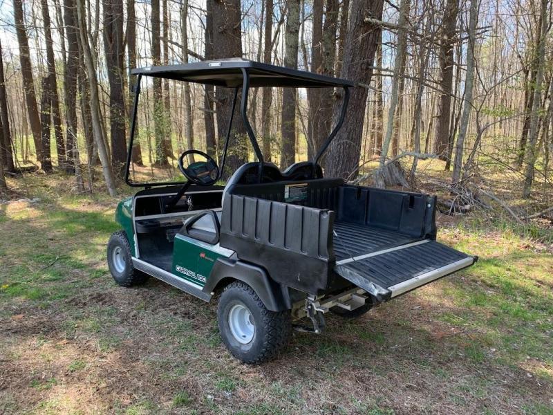 Club Car Carryall 100 48v 2 Pass UTV w/Dump Bed 2019 BATTERY GOLF CART