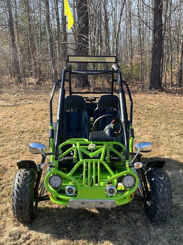 NEW Trailmaster 200 XRX 43 MPH Go Kart Teen-Adult Green