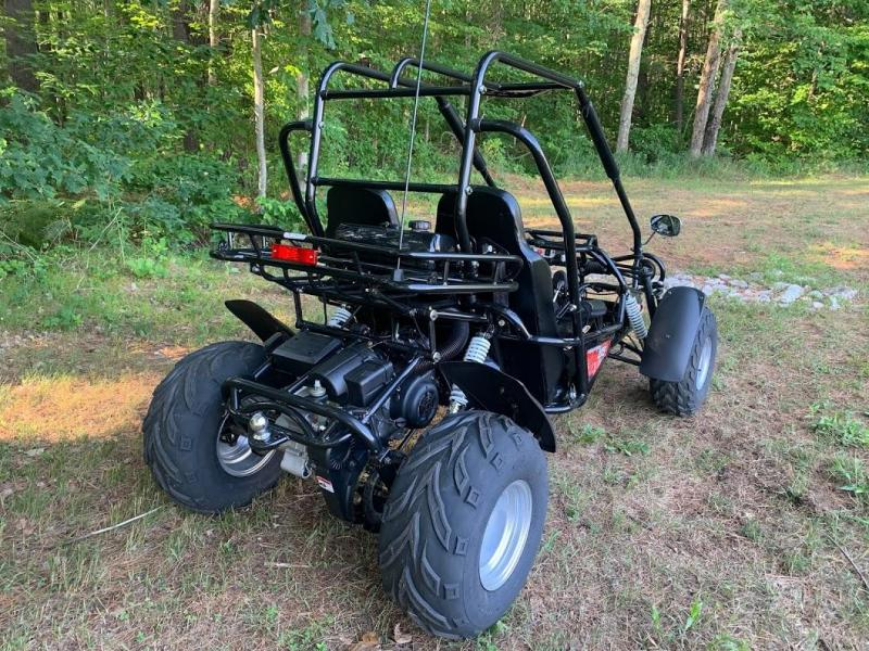 Trailmaster 200E XRS Fuel Injected 43 MPH Go Kart Teen-Adult BLACK